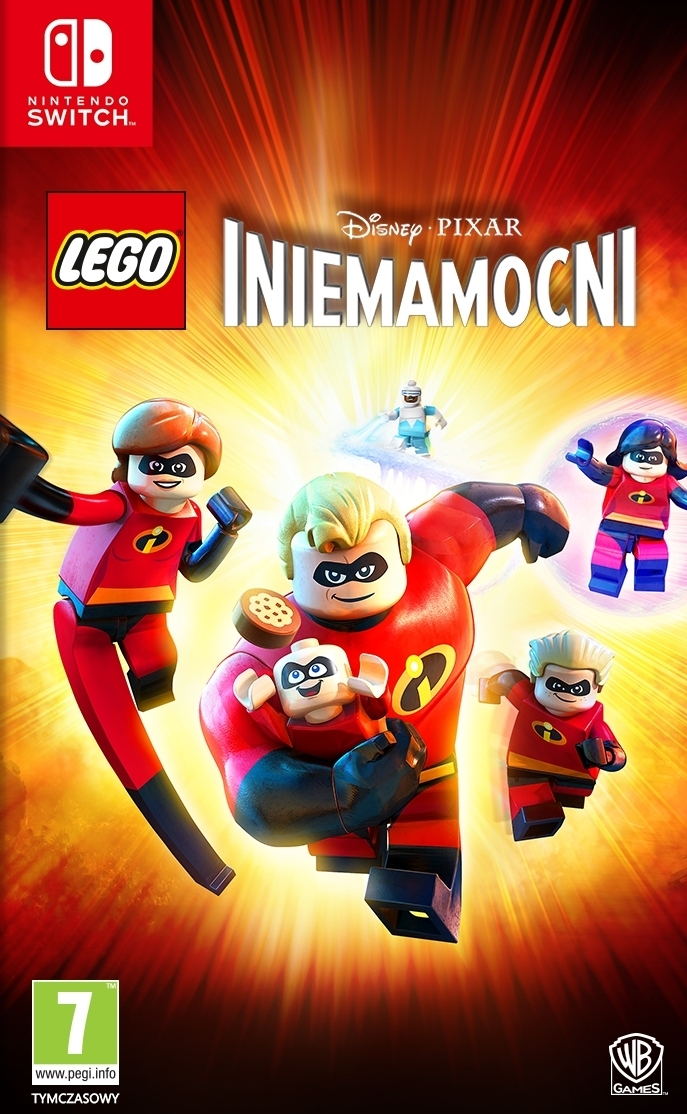 LEGO Incredibles / LEGO Iniemamocni PL Nintendo Switch